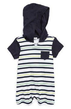 Splendid Print Stripe Jersey Bodysuit (Baby Boys) available at #Nordstrom