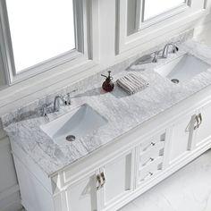 "60"" Helix Double Sink Vanity  Double Bathroom Vanities Vanities Amusing 72 Inch Bathroom Vanity Double Sink Decorating Design"