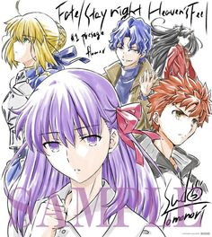 Anime movie Fate/stay night [Heaven's Feel] –「I.presage flower」 Thank-You note by director Tomonori Sudou. Fate Stay Night Sakura, Fate Stay Night Series, Fate Stay Night Anime, Anime Events, One Punch Anime, Fate/stay Night, Sakura Cosplay, Shirou Emiya, Romance Comics