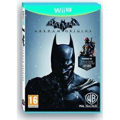 BATMAN ARKHAM ORIGINS EN CASTELLANO NUEVO PRECINTADO Wii U