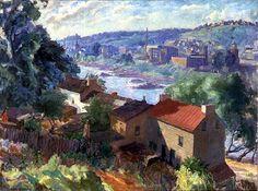 Sarah Blakeslee - Along the river,1938