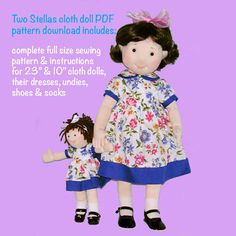 23+inch+cloth+doll++her+own+10+rag+doll+sewing+by+MorrisseyDolls
