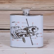 WSG08 - Workshop Hip Flask