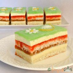 simonacallas - Desserts, sweets and other treats Dessert Bars, Dessert Recipes, Lemon Curd, Coco, Macarons, Vanilla Cake, Tiramisu, Creme, Fondant