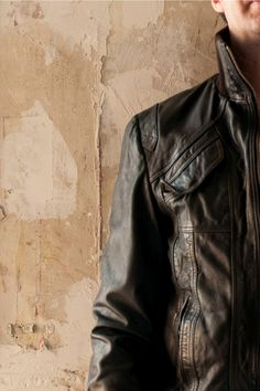 #leather Revolution Canada Dark Brown Cowhide Mens Leather Jacket