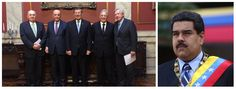 """Numa de suas primeiras missões internacionais, no Uruguai, o chanceler interino José Serra causou mal-estar ao pedir que os uruguaios não passem a presidência temporária do Mercosul à Venezuela, como preveem as regras do bloco; Serra levou a tiracolo o ex-presidente Fernando Henrique Cardoso e ambos pediram ao presidente Tabaré Vazquez que não ceda o posto a Nicolás Maduro; o pedido, no entanto, foi negado; """"Existe uma posição do Uruguai que compreendemos, que se tem de respeitar as…"""