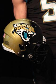 New Jaguars Helmet