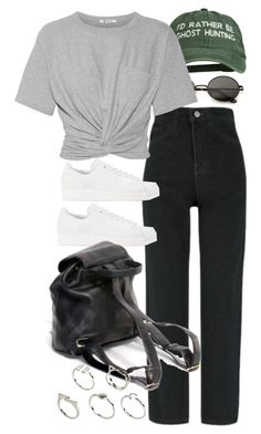 """""""Untitled #11573"""" by nikka-phillips ❤ liked on Polyvore featuring T By Alexander Wang, adidas Originals and ASOS"""