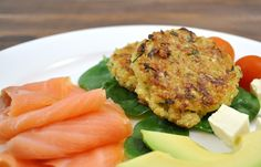 {The Organised Housewife} Quinoa and Zuchhini Fritters