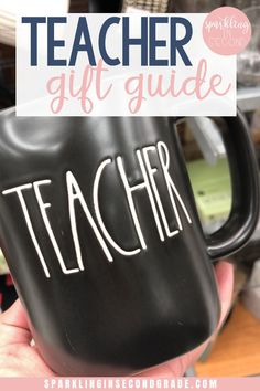 Gifts your teacher will love! Teacher gift guide for holidays, beginning or end of the year!