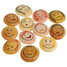 Emotion Stones, DIY to-do-list Play Therapy Activities, Counseling Activities, Sensory Activities, Social Emotional Learning, Social Skills, Social Work, Elementary School Counseling, School Counselor, Story Stones