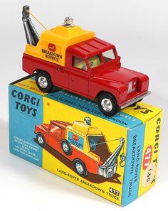 Corgi Toys 477 - Breakdown Truck Land Rover