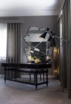 Luxus und moderne Büros Einrichtungsideen für maximale Inspiration   Einrichtungsideen   Schöner wohnen   Wohnzimmer Ideen   Design Inspirationen #Wohnideen   #Einrichtungsideen   #Schöner wohnen   #Wohnzimmer Ideen   #Design Inspirationen