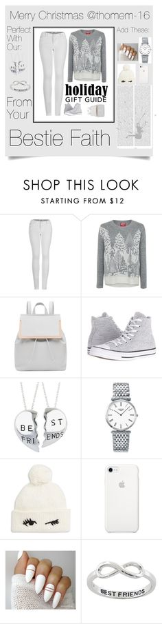 """Merry Christmas thonem-16"" by username122 ❤ liked on Polyvore featuring 2LUV, George, Ted Baker, Converse, Longines, Kate Spade, Oris and Eternally Haute"