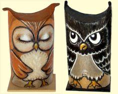 anjas-artefaktotum - Toiletrolls become owls