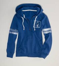 Duke Blue Devils zip up