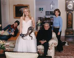 Tina Barney Family Commission with Snake (The Waterfalls), 2007