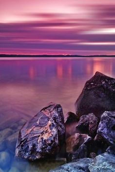 Purple Haze on Torch Lake
