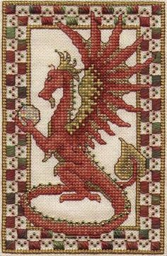 Dragon Free Cross Stitch Pattern