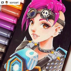 Tracer . . #tracer #overwatch #Draw #Drawing #Art #Fanart #Artist #Illustration #Design #sketch #doodle #tattoo #Arthelp #Anime #Manga #Otaku #Gamer #Nerdy #Nerd #Comic #Geek #Geeky