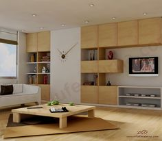 living room clock wall