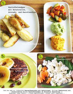 Das schöne Potpourri von Billa's vegan Wednesday - ihre Bilder sagen mehr als meine Worte...