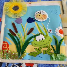 Новости Flannel Boards, Felt Patterns, Busy Book, Quiet Books, Book Pages, Quilling, Couture, Sewing, Children