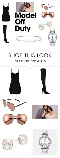 """K and K Jenner"" by tauriqua-lipscomb on Polyvore featuring Kendall + Kylie, Kate Spade, Avenue, Suzanne Kalan and jenners"