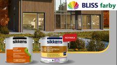 Sikkens Novatech /neXt/ - lazúra na drevo Canning, Home Canning, Conservation