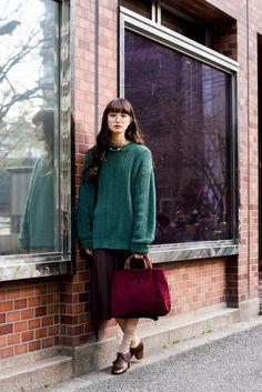 ストリートスナップ大阪 - マンナミユさん | Fashionsnap.com