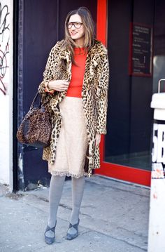 Love the casualness and the mix-it-up look.