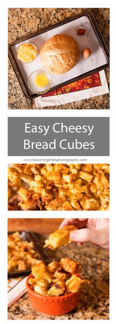 Easy Cheesy Bread Cu