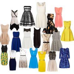 """Formal Day Dresses"""