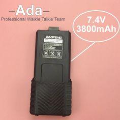 Yüksek Kapasiteli BaoFeng UV-5R Pil 7.4 v 3800 mAh Için Radyo Walkie Talkie BaoFeng Aksesuarları