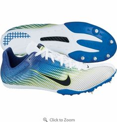 These Nike Zoom Mamba 2 Track Spikes will have you sprinting to the finish line in no time! Their light-weight feel and comfortable support is perfect for fast-pace running. $114.99