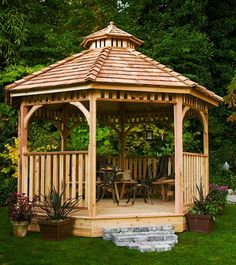 The Creekside Gazebo is the perfect gazebo marriage - beautifully designed and well crafted.