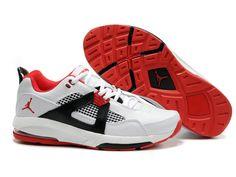 quality design 603cd 31a69 Chaussures Air Jordan Q4 Gris  Rouge  Blanc  nike 10099  - €61.87