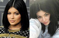 Kim Kardashians Halbschwester Kylie Jennergeht normalerweise sehr großzügig mit Make-up um. Doch rechts zeigt sie sich nahezu ungeschminkt. Die Sommersprossen stehen ihr!
