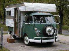 Split window camper
