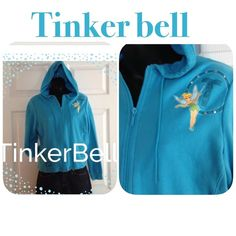 Adult tinker bell hoody Excellent condition Tops