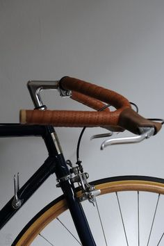 leather handlebars
