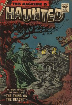 Comic Book Cover For This Magazine Is Haunted v2 #12