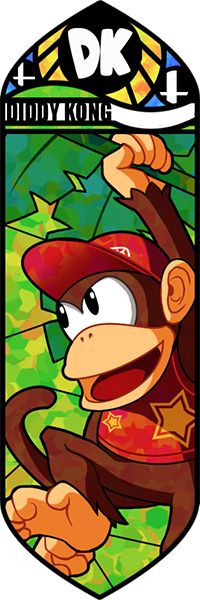 Smash Bros - Diddy Kong by Quas-quas.deviantart.com on @deviantART