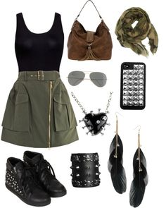 """""""army scout"""" by taylortineisha ❤ liked on Polyvore"""