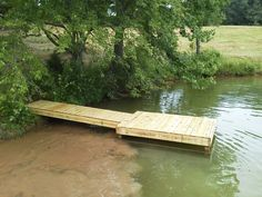 images of pond docks | 8x8 Stationary for a fish feeder.