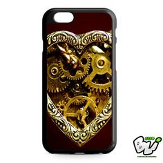 Steampunk Heart Gears iPhone 6 Case | iPhone 6S Case