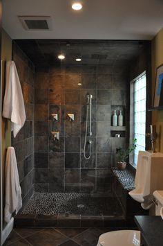 Masculine shower
