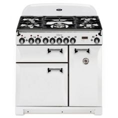 For classic looks with modern features, look no further than the Aga Legacy. Unique gleaming spiral handles set off the curvaceous doors to satisfy the design conscious. A versatile cooktop and flexible electric ovens indulge those with the highest culinary standards. Optional cathedral doors are available in all colors. With this bold appearance and contemporary features, it's easy to see why this Aga out looks and out cooks other pro-style ranges. More moderately priced than most 36-inch…
