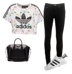 """Sans titre #131"" by meissa-sa on Polyvore featuring mode, adidas Originals, rag & bone, adidas et Givenchy"