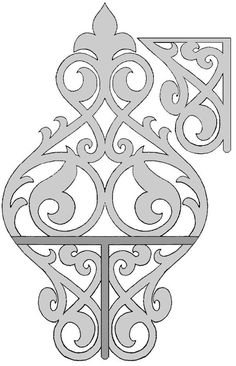 maybe on porch railing ?? Free Scroll Saw Fretwork Patterns | fdb28cab9b69eb5d8b6318e097f99ea4.jpg